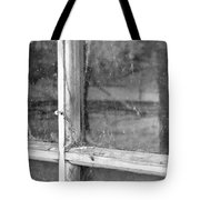 Old Window Reflection Tote Bag