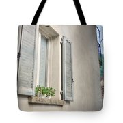 Old Window With Shutter Tote Bag