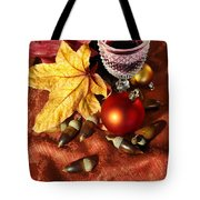 Old Wine Glass Tote Bag