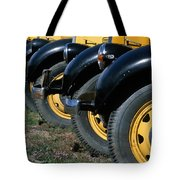 Old Yellowstone Coaches Tote Bag