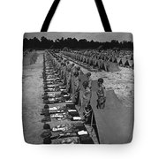 Oldiers Stand By For Inspection Tote Bag