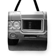 Olds C S In Black And White Tote Bag