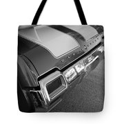 Olds Cs In Black And White Tote Bag