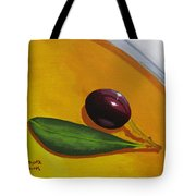 Olive In Olive Oil Tote Bag
