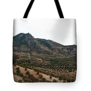 Olive Oil Mountain Tote Bag
