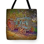 Oliver Tractor 2 Tote Bag