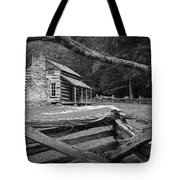 Oliver's Cabin In The Great Smokey Mountains Tote Bag