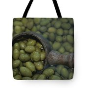 Olives Being Processed In Provence Tote Bag
