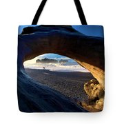 Olympic Drift Logs Tote Bag