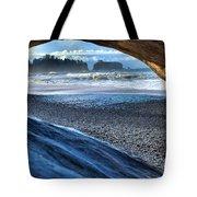 Olympic Drift Wood Tote Bag