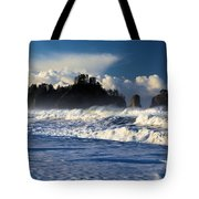 Olympic Ocean Swirls Tote Bag