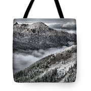 Olympic Ridge Tote Bag