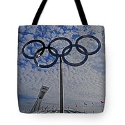 Olympic Stadium Montreal Tote Bag by Juergen Weiss