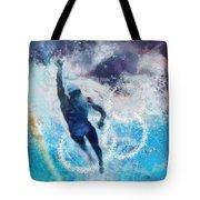 Olympics Swimming 01 Tote Bag