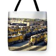 Omaha Union Pacific Maintenance Shops Tote Bag