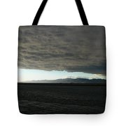 Ominous Black Storm Cloud Tote Bag