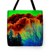 Ominous Cloudfront Tote Bag