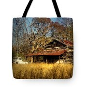 On A Back Road Tote Bag