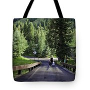 On A Country Road - Vail Tote Bag