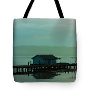 On A Pier Tote Bag