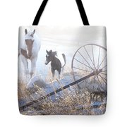 On A Winter Day Tote Bag