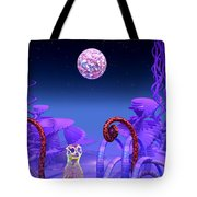 On Another Planet Tote Bag by Douglas Barnard