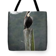 On His Throne Tote Bag