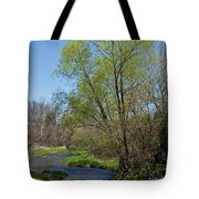 On The Banks Of Spring Tote Bag