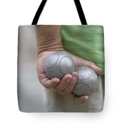 On The Boules Pitch Tote Bag