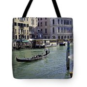 On The Canal In Venice Tote Bag