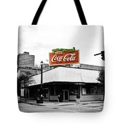 On The Corner Tote Bag by Scott Pellegrin