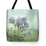 On The Crocus Bluff Tote Bag