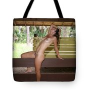 On The Fence 839 Tote Bag