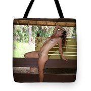 On The Fence 841 Tote Bag