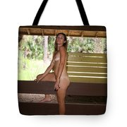 On The Fence 842 Tote Bag
