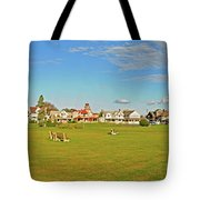 On The Green At Marthas Vineyard Tote Bag