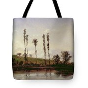 On The Outskirts Of Paris Tote Bag