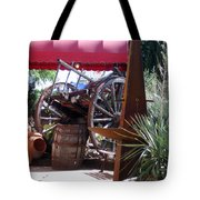On The Patio Tote Bag
