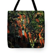 On The Shady Side Tote Bag