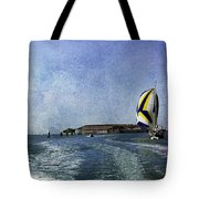 On The Water 2 - Venice Tote Bag