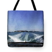 On The Water 5 - Venice Tote Bag