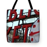 On The Wharf  Tote Bag