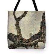 On Wings High Tote Bag