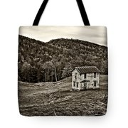 Once Upon A Mountainside Sepia Tote Bag