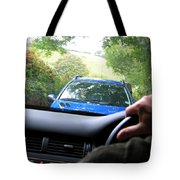 Oncoming Traffic Tote Bag