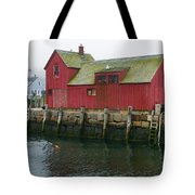 One Foggy Afternoon In Spring Tote Bag
