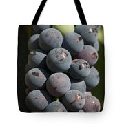 One Green Grape Stands Out In A Bunch Tote Bag