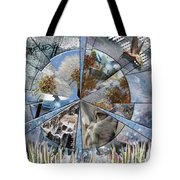 One Heart Tote Bag by Leslie Kell