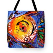 One Lives Through Two Tote Bag