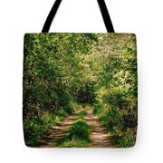 One Lonely Path Tote Bag